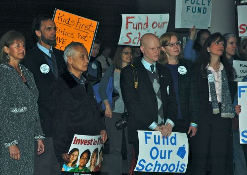 Please fully fund our schools!